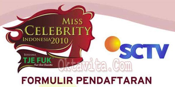 Formulir Miss Celebrity 2010