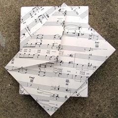 sheet music stationery