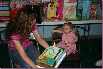 1st Birthday - 10-10-09 061