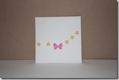 Mum Thank you Card Envelope Back