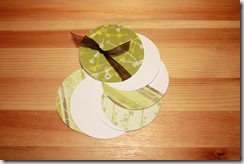 Tiny Album Circle Olive Green2
