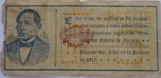 Billetes Antiguos de Oaxaca B_P1000925