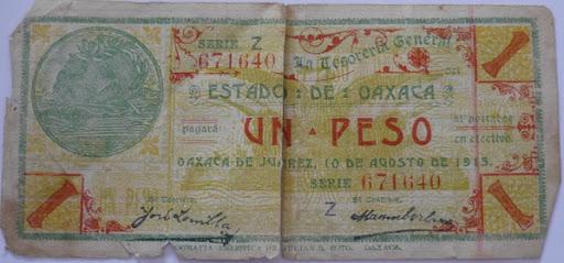 Billetes Antiguos de Oaxaca B_P1000928