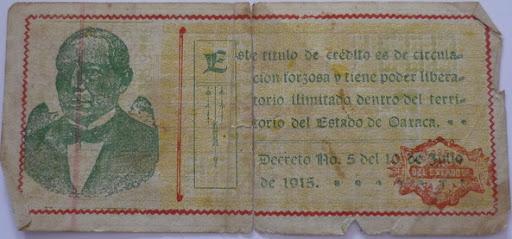 Billetes Antiguos de Oaxaca B_P1000929