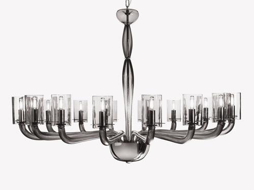 Fuorisalone hangar design group chandeliers vintage disegnati