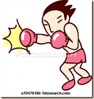fighter-player-punching_~u19478186