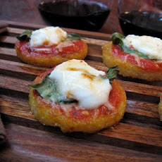 Polenta Mini Pizzas