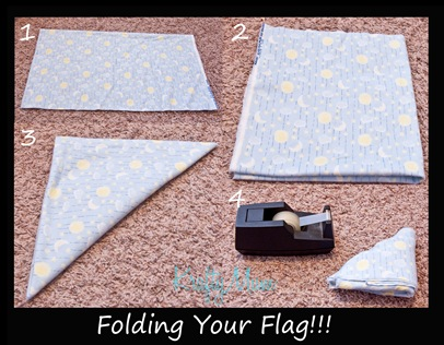 Folding your flag