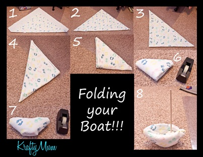 Folding your boat