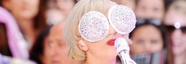 """#5361499 Lady Gaga performed on NBC's 'Today' show"""" at Rockefeller Plaza in New York, New York on the morning of July 9, 2010 for a crowd of an estimated 20,000 people who enjoyed many song from the singer during humid conditions and some rain.   Fame Pictures, Inc - Santa Monica, CA, USA - +1 (310) 395-0500"""