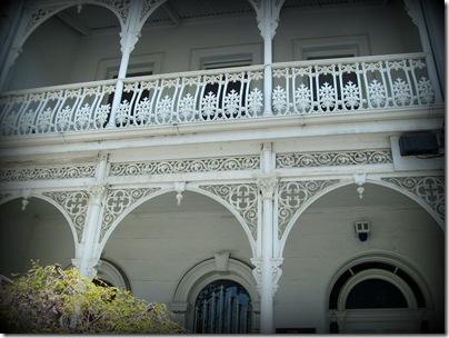 Victorian building vignette