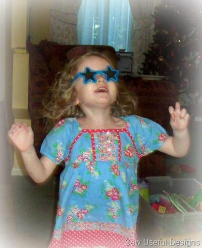 Xmas 10 Rosie acting bonkers!