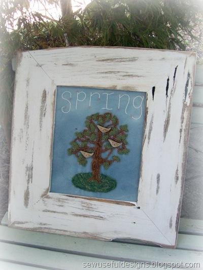 Spring punchneedle