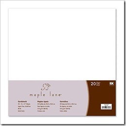 Kit Papel CS WHITE (20 FOLHAS)