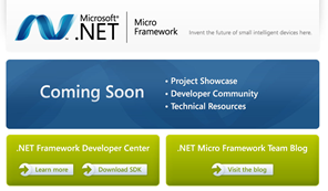 Microsoft .NET Micro Framework - Open Source