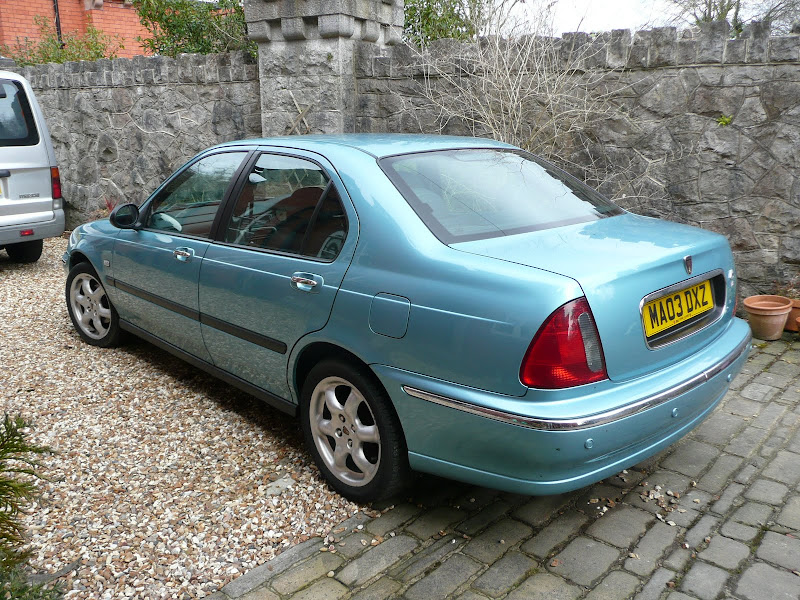 Low Mileage Rover 45 Impression S3 1.6 For Sale - MG-Rover.org Forums