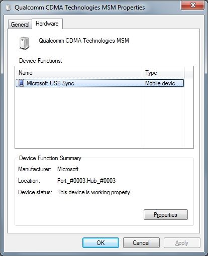 Where can i find driver for qualcomm cdma technologies msm
