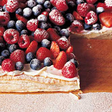 Mixed Berry Tart With Vanilla Mascarpone Cream