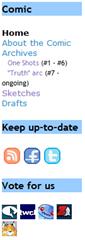 Screenshot of CAB Sidebar