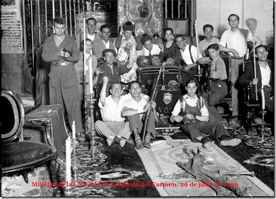 chiesa occupata 1936