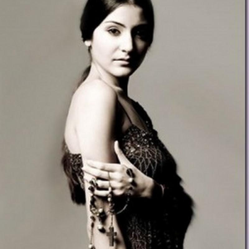 Anushka Sharma has to wear bum bags