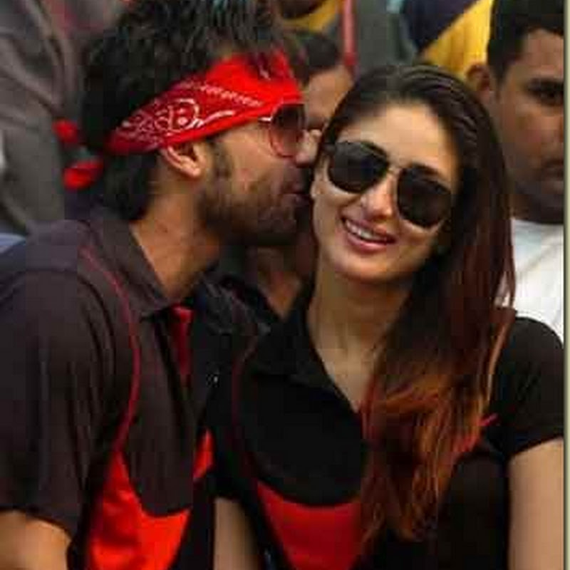 Saif-Kareena on a kissing mania