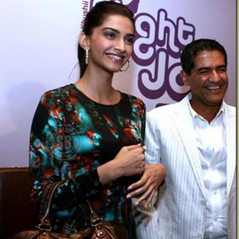 Sonam Kapoor is the brand ambassador of NGO Khushii
