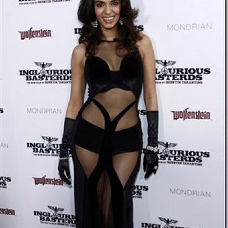 Mallika Sherawat at NYC Fashion Week
