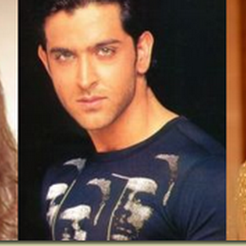 The two ladyloves of Hrithik Roshan