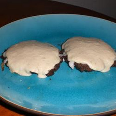 Green Chili Cheeseburgers