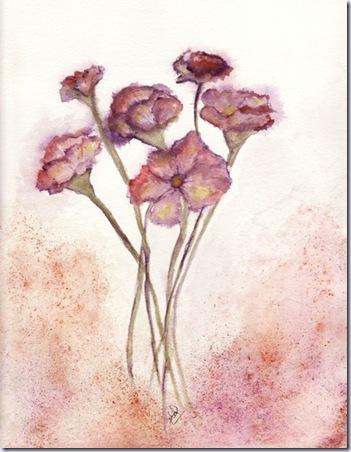 pdforiginalartworks pink flowers 517