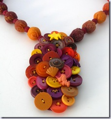 birose fall button snapple bib necklace