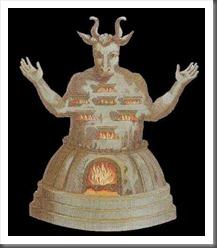 Estátua do deus Moloque