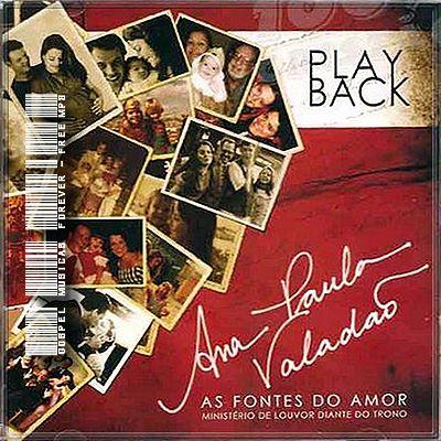 baixar  Ana Paula Valadão   As Fontes Do Amor   Playback   2009 | músicas