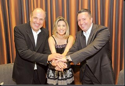 Jaime, Eliana e Dirceu by gerson