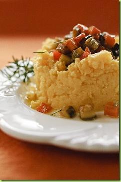 Legumes ao forno com polenta 2b