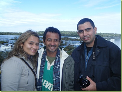 Gesiani, Adelson Barra e Frankmar - Foto Wemerson Augusto