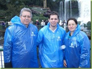 Familia Tambara - Foto Cataratas do Iguacu S.A