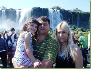 Jose Roberto Gai e familia - Foto Cataratas do Iguacu S.A