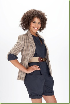 Lenora Crichlow que interpreta a protagonista Alic Redclife