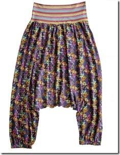 calça de malha com elástico Shoulder R$219,00