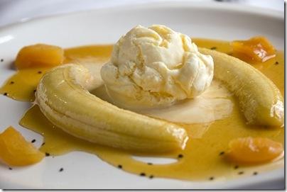 banana flambada - Armazém Santo Antônio