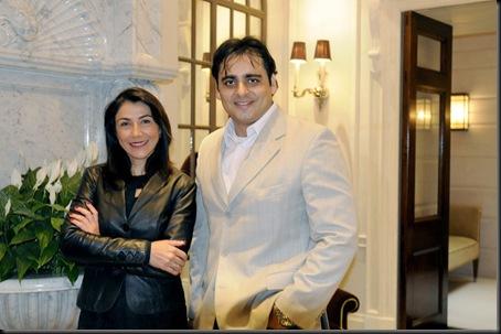Helena Gracia e Claudio Oporto