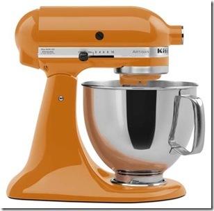 Da Kitchenaid, Stand Mixer Tangerine da KitchenAid chega em maio