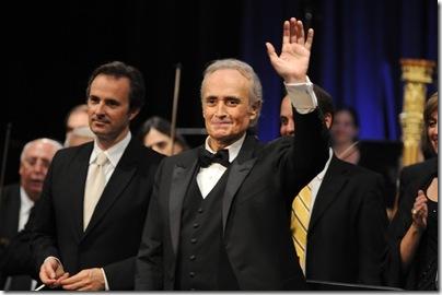David Giménez Carreras y José Carreras en Conrad Punta del Este