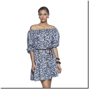 Vestido em algodão Lara Costa para Passarela - R$ 184,99