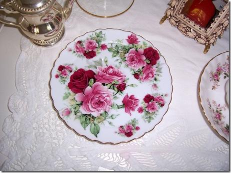 mini teaset plate