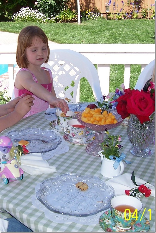 Jess birthday party tea