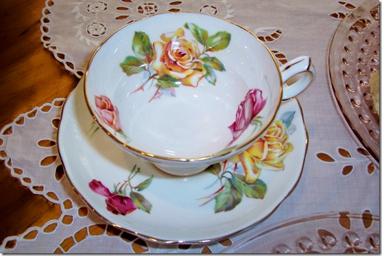 morgan's rose teacup