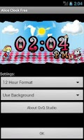 Screenshot of Alice Clock Free